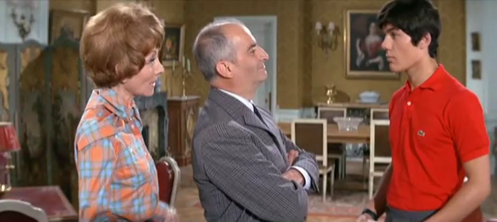 LES GRANDES VACANCES - LOUIS DE FUNES BOX OFFICE 1967