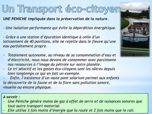 Un transport Eco Citoyen
