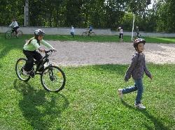 Séance vélos