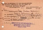 soldat im 2. Weltkrieg vermisst