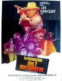 LA CHEVAUCHÉE DES 7 MERCENAIRES BOX OFFICE FRANCE 1972