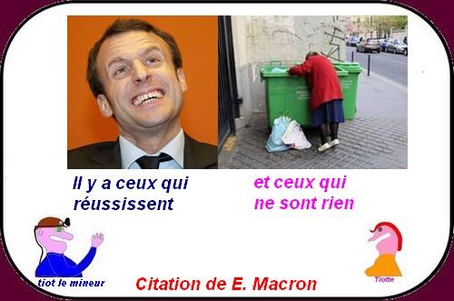 Macron déraille, terrorisme etc.. ce sont les petites infos du mercredi !