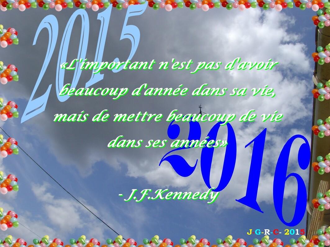 RÉFLEXION DE LA SEMAINE  27/12/2015