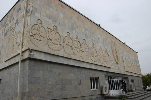 Le musée d'Afrasiab à Samarcande