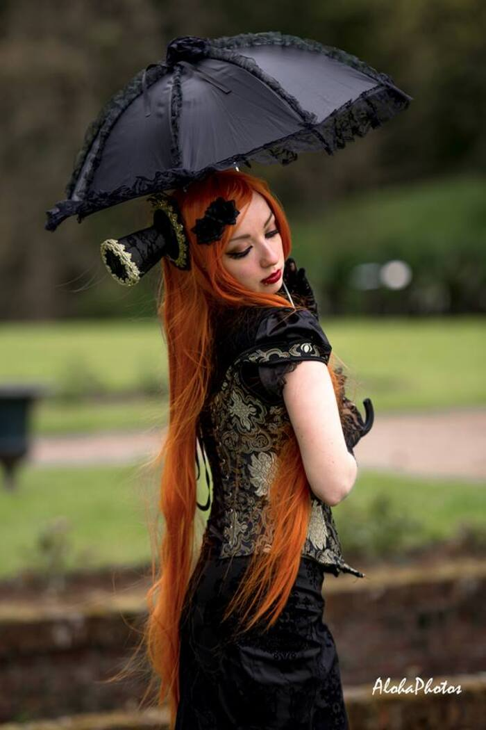 Kuro Hana, modèle goth