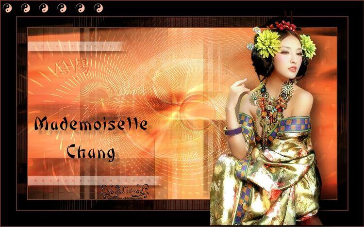 Mademoiselle Chang   de Animabelle
