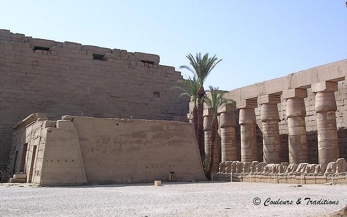 Karnac, le temple d'Amon