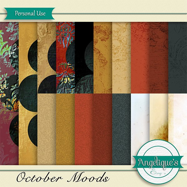 October Moods de Angelique's Scrap