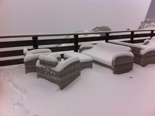Dolomites sous la neige