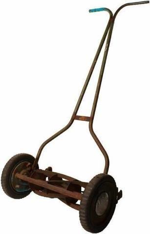 push mower: