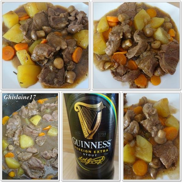Irish Stew à la Guinness (râgout d'agneau à la bière irlandaise)