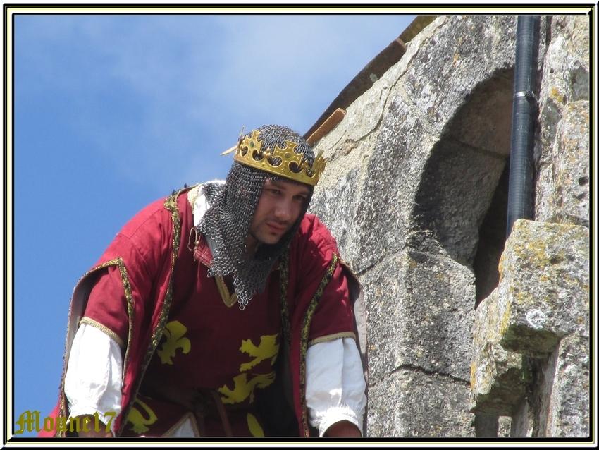 Fête médiévale au château de St Jean d'Angle