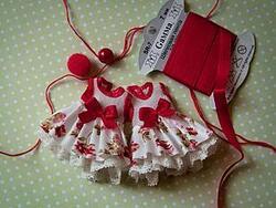 Pour Noël ! Créations petite robe poupée ...