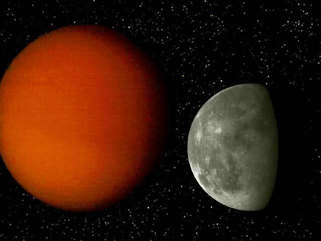 Comparaison entre la Lune et Titan