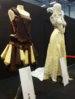 Quelques photos du salon du chocolat !