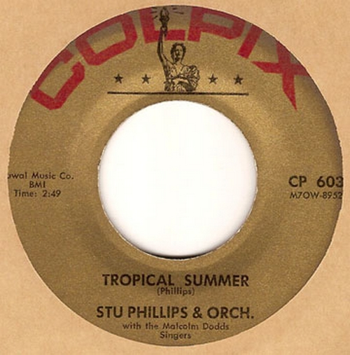 Stu Phillips & Orchestra With The Malcolm Dodds Singers : Tropical Summer