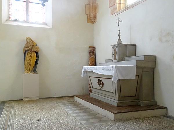 L'église de Châteauneuf en Auxois