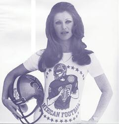 Mai 1976 : Gling gling gling, car j'aime bien le football américain !