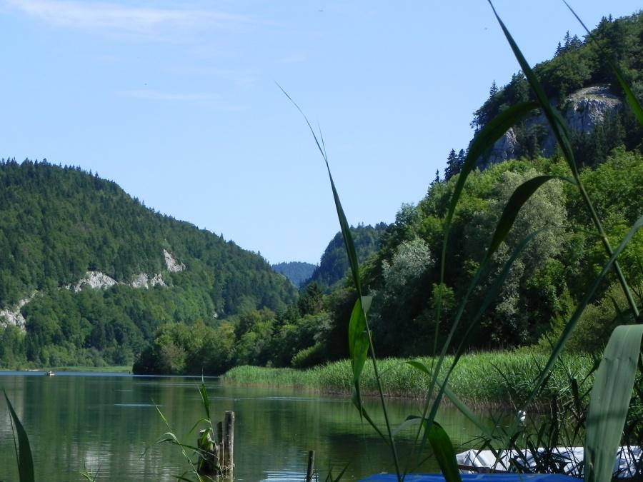 le lac de Joux en Suisse
