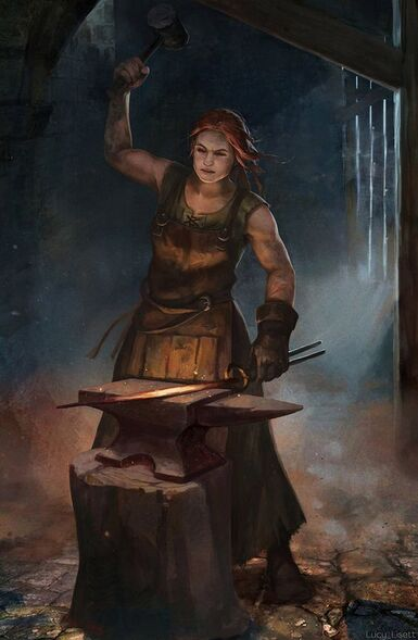 Blacksmith by Lucy-Lisett.deviantart.com on @DeviantArt