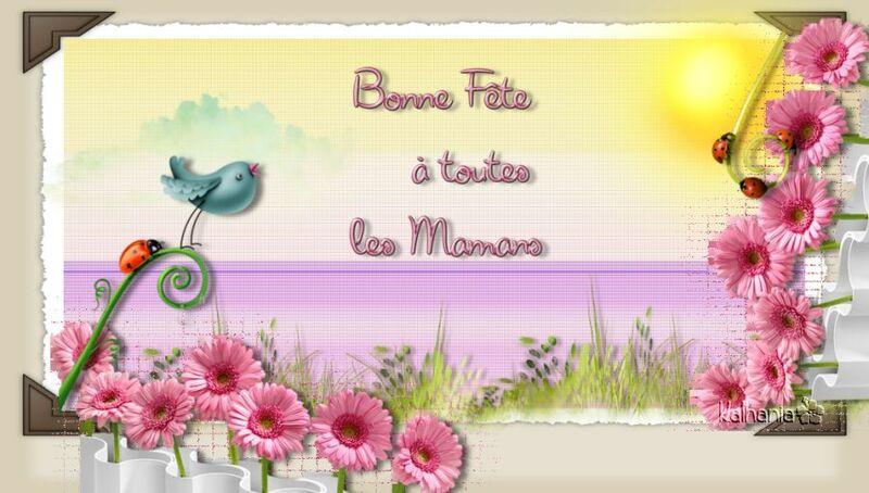 29 MAI 2016 : FETE DES MERES