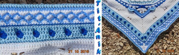 """Un """"Mandala"""" au crochet 17 et 1"""