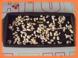 Tablette chocolat aux céréales