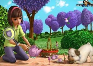Hidden numbers - Thumbelina