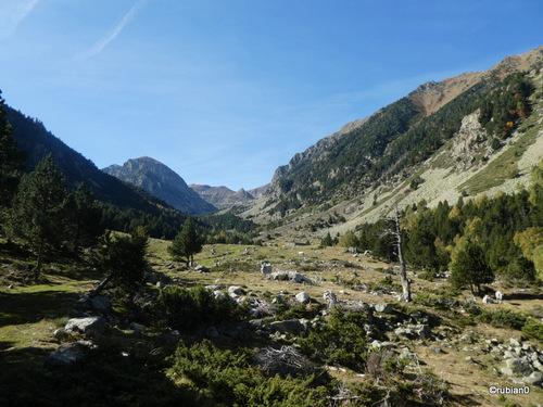 la vallée de l'Orri