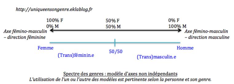 L'éventail des identités de genre non-binaires