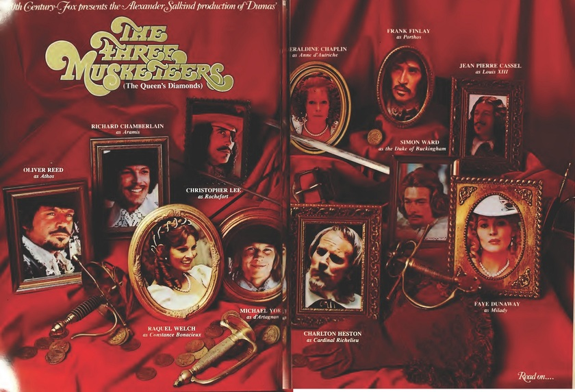 THE THREE MUSKETTERS BOX OFFICE USA 1974