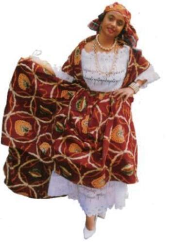 Costumes Antillais Traditionnels Caraïbes Les Et Bijoux Espace wOkZuiTPX