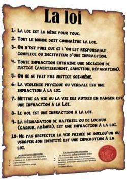 Loi et règlement
