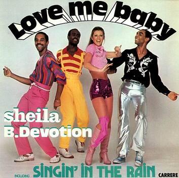1977 / LOVE ME BABY - SINGIN'IN THE RAIN