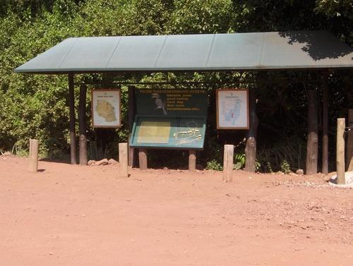 Entrée du parc du Lac Manyara