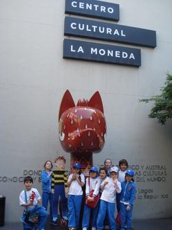 Visite du centre-ville de Santiago avec Clément Aplati
