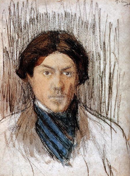 Picasso 16 /   l'enfant au pigeon
