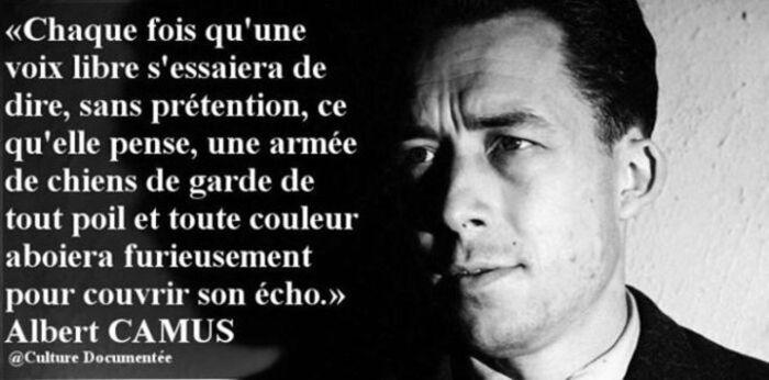 Le plaidoyer pour la paix d'Albert Camus  Mes voeux de bonne année !