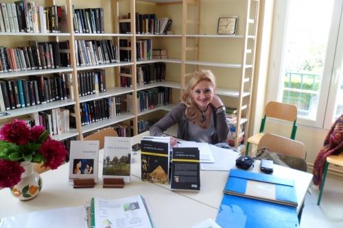 Dédicaces Catherine Carrère Romancière 2012