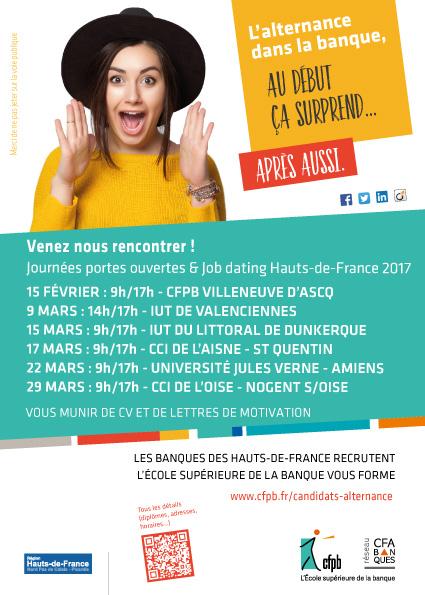 Job Dating Bachelor / BTS Banque Assurance à Saint-Quentin, lycée Condorcet