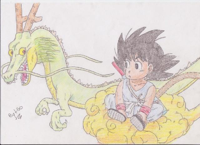 Sangoku & Shenron [1c]