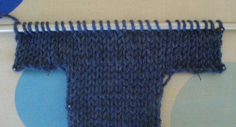 patron mitaine tricot 2 aiguilles
