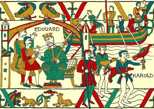 La vie de Guillaume le Conquérant (II-B)