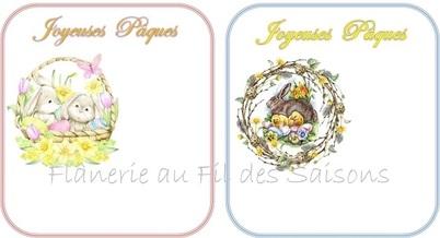 Pâques ! cartonnettes + MP