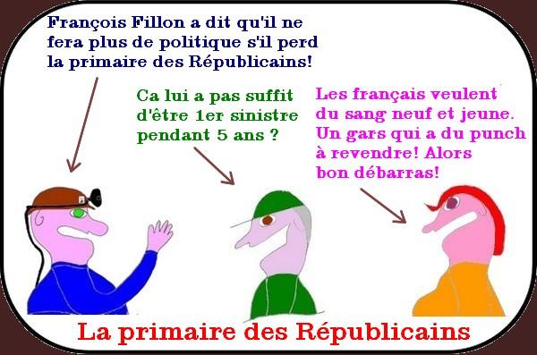 la primaire des républicains - fillon