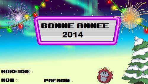 BONNE ANNEE 2014 !!!!!!!!!!