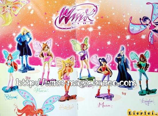 Winx Kinder Allemagne 2012