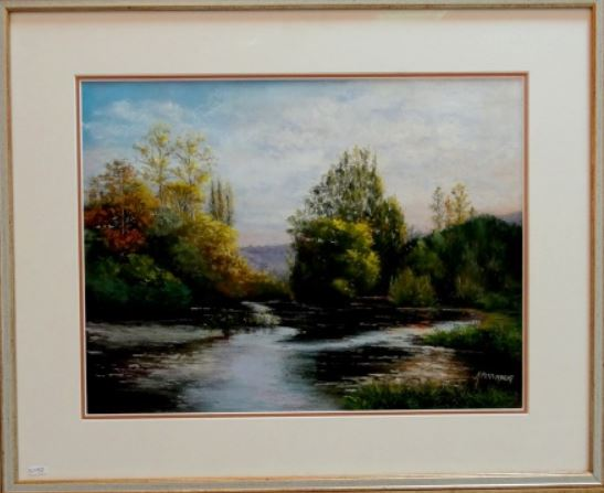 Le 14ème salon d'automne de Chamesson a révélé de très nombreux peintres de valeur...