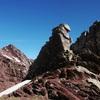 Du Paso de las Negras (2407 m), il faut suivre la crête à droite O-N-O