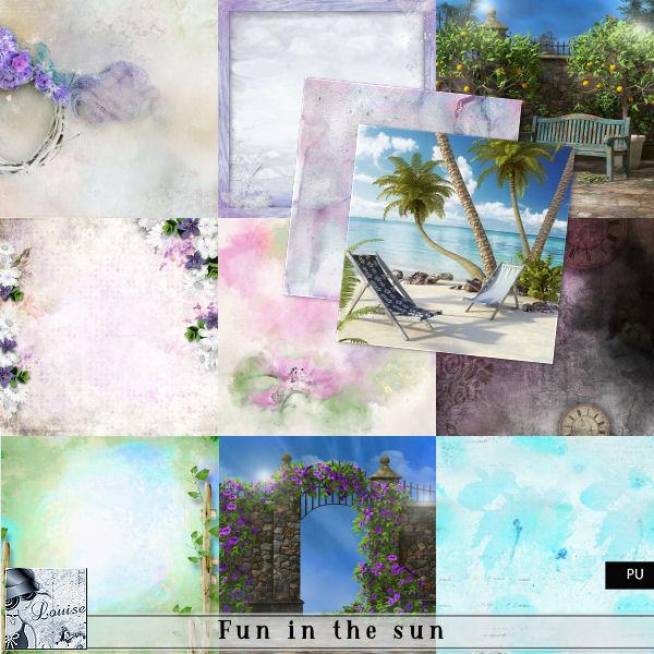 Fun in the sun Louis538